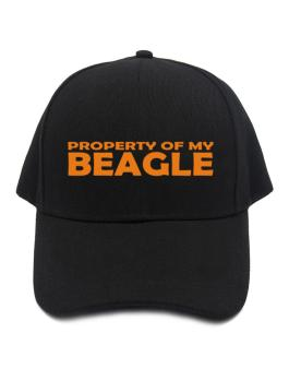 Property Of My Beagle Embroidery Baseball Cap