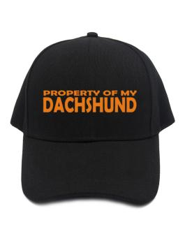 Property Of My Dachshund Embroidery Baseball Cap