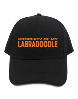 Property Of My Labradoodle Embroidery Baseball Cap