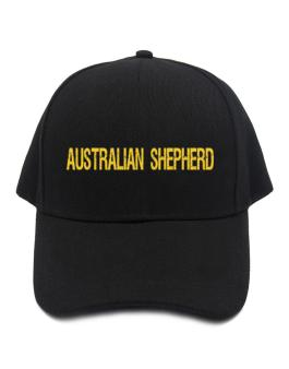 Australian Shepherd Simple / Cracked / Vintage / Old Baseball Cap