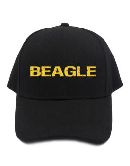 Beagle Simple / Cracked / Vintage / Old Baseball Cap