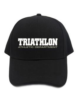 Triathlon Athletic Department Baseball Cap