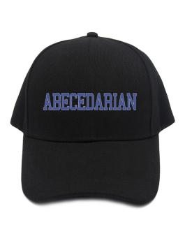 Abecedarian - Simple Athletic Baseball Cap