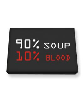 90% Soup 10% Blood Canvas square