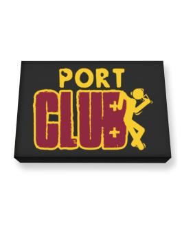 Port Club Canvas square