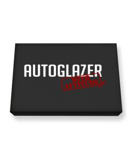 Autoglazer With Attitude Canvas square