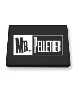 Mr. Pelletier Canvas square
