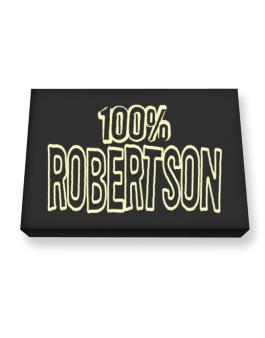 100% Robertson Canvas square
