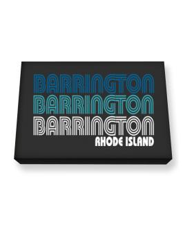 Barrington State Canvas square