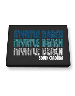 Myrtle Beach State Canvas square