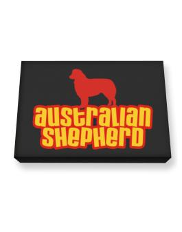 Breed Color Australian Shepherd Canvas square