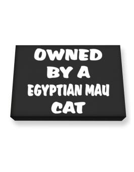 Owned By S Egyptian Mau Canvas square