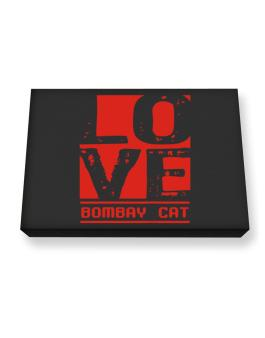 Love Bombay Canvas square