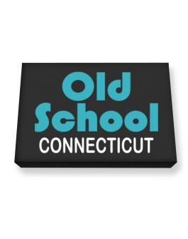Old School Connecticut Canvas square