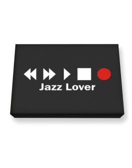 Jazz Lover Canvas square