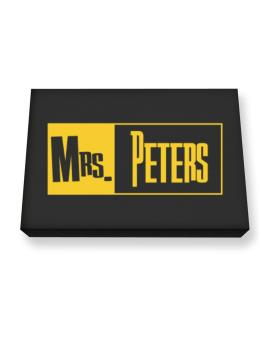 Mrs. Peters Canvas square