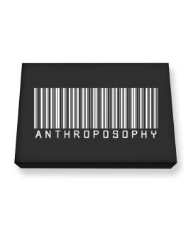 Anthroposophy - Barcode Canvas square