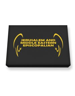 Jerusalem And Middle Eastern Episcopalian - Wings Canvas square