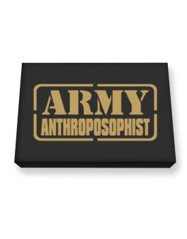 Army Anthroposophist Canvas square