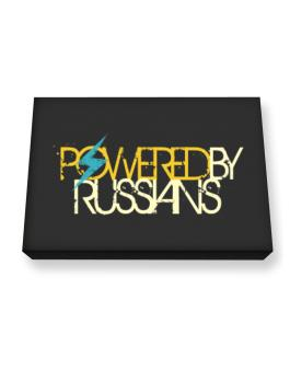 Powered By Russians Canvas square
