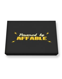 Powered By Affable Canvas square