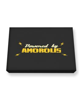 Powered By Amorous Canvas square