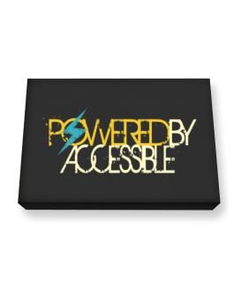 Powered By Accessible Canvas square