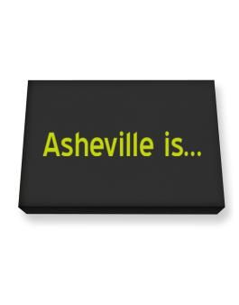 Asheville Is Canvas square
