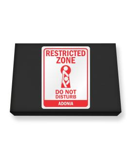 Restricted Zone - Do Not Disturb Adonia Canvas square