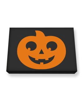 Belly pumpkin Canvas square