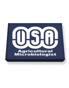 Usa Agricultural Microbiologist Canvas square