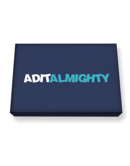 Adit Almighty Canvas square