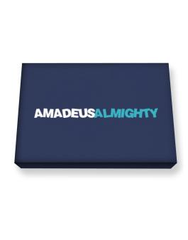 Amadeus Almighty Canvas square