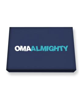 Oma Almighty Canvas square