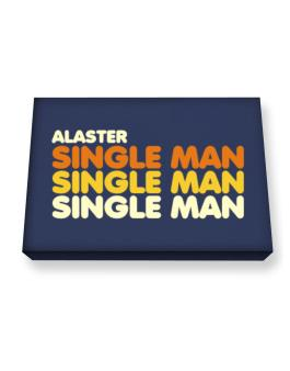Alaster Single Man Canvas square