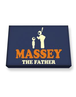 Massey The Father Canvas square