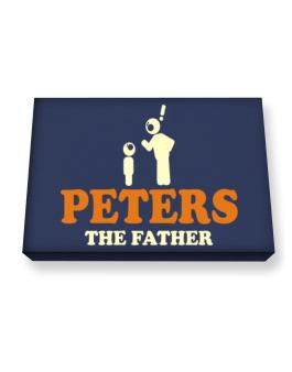 Peters The Father Canvas square