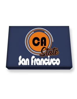 San Francisco - State Canvas square