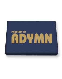 Property Of Adymn Canvas square
