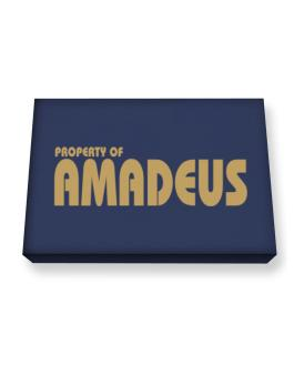 Property Of Amadeus Canvas square