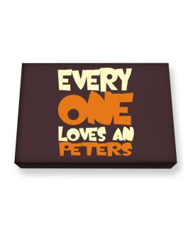 Everyone Loves A Peters Canvas square