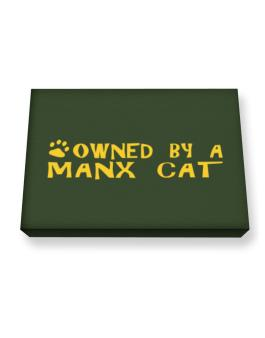 Owned By A Manx Canvas square
