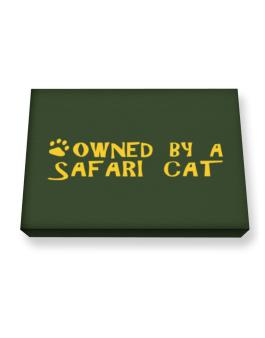 Owned By A Safari Canvas square
