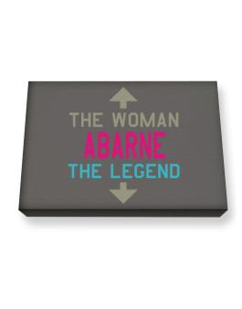 Abarne - The Woman, The Legend Canvas square