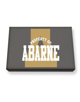 Property Of Abarne Canvas square