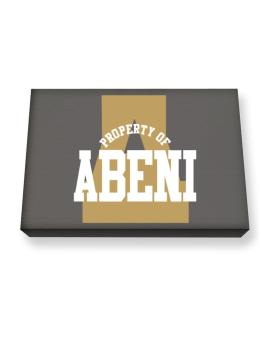 Property Of Abeni Canvas square
