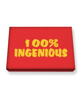 100% Ingenious Canvas square
