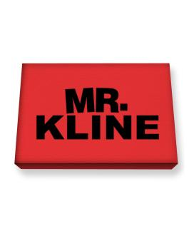 Mr. Kline Canvas square