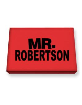 Mr. Robertson Canvas square
