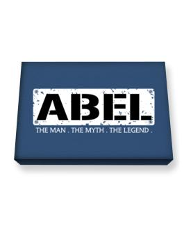 Abel : The Man - The Myth - The Legend Canvas square